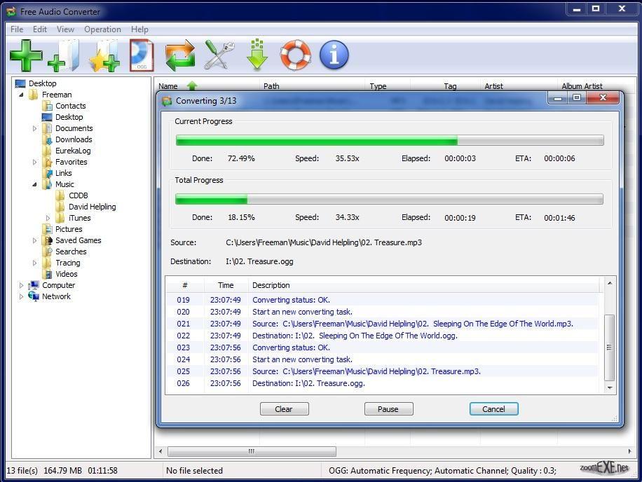 Скачать программу для конвертирования аудио в mp3