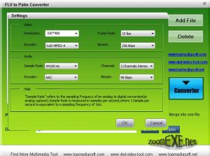 Free FLV to Palm Converter 1.0