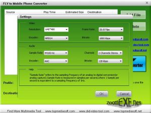 Free FLV to Mobile Phone Converter 1.0