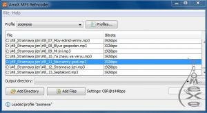 AmoK MP3 ReEncoder 1.1.0