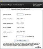 Random Password Generator 1.3
