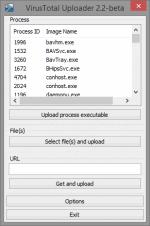 VirusTotal Uploader 2.2