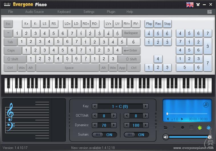 Синтезатор на клавиатуре компьютера скачать торрент