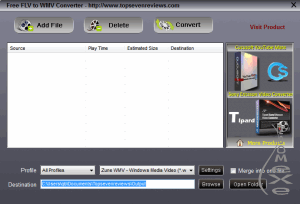Free FLV to iPod Converter 1.0