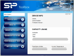 SP SSD Toolbox от Silicon Power Computer & Communications Inc.
